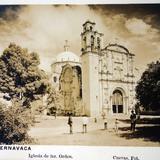 Iglesia del Tercer Orden por el fotografo L Cuevas ( 1900-1920 )