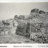 Ruinas Arqueologicas de Xochicalco el fotografo L Cuevas ( 1900-1920 )