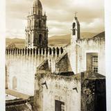 La Torre de Catedral por el fotografo L Cuevas ( 1900-1920 )