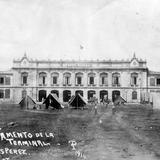 Campamento estadounidense en el Hotel Terminal (1914)
