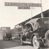 Cruce internacional México - Estados Unidos