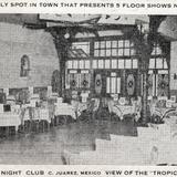 Vista del Salón Tropical, en el 1-2-3 Night Club