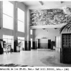 Interior de la Estación de los Ferrocarriles Nacionales