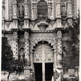 Fachada del Templo del Carmen