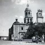 El historico templo de La Cruz ( 1930-1950 )