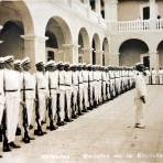 Cadetes de La Escuela naval  ( 1900-1930 ) - Veracruz, Veracruz