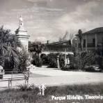 Parque Hidalgo  ( 1930 -1950 ) - Tlacotalpan, Veracruz