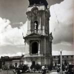 La Torre de el reloj ( 1930-1950 ) - Pachuca, Hidalgo