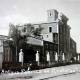 Fábrica de alcohol La Betica. ( 1910-1930 ) - Celaya, Guanajuato