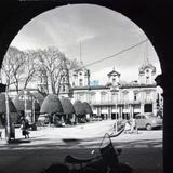Panorama y la Plaza   ( 1930-1950 ) - León, Guanajuato