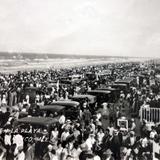 Paseo por la Playa ( 1930-1950 ) - Tampico, Tamaulipas