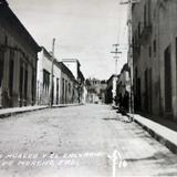 Calle de la Merced y el Calvario ( 1930-1950 )