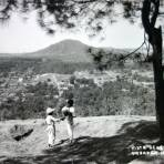 Vista general Uruapan Michoacan ( 1930-1950 )