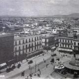Panorama desde el Palacio Nacional  ( 1900-1920 )