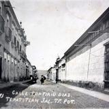 Calle Porfirio Diaz ( 1910-1930 )
