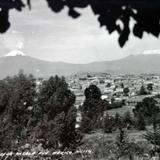 Los Volcanes desde Puebla ( 1930-1950 )
