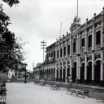 Un aspecto de el Palacio Municipal. ( 1930-1950 ) - Tlacotalpan, Veracruz