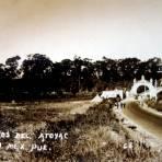 Puente y Arcos sobre el Rio Atoyac ( 1930-1950 )