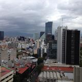 Vista de los rascacielos de Paseo de la Reforma. Agosto/2016