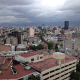 Vista del sur de la ciudad desde el Hotel Fiesta Americana Reforma. Agosto/2016