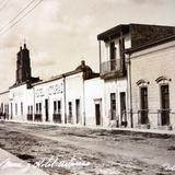 Calle Mina y el Hotel Asturias ( 1900-1920 )