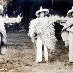 TIPOS MEXICANOS Capotes de Tule ( 1910-1920 )