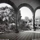 Panorama desde el  Palacio de Cortes