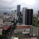 Los rascacielos de Paseo de la Reforma. Agosto/2016