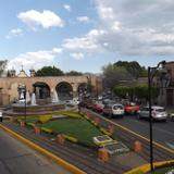 Fuente de las Tarascas y acueducto de Morelia. Marzo/2016