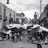 Lugar tipico de el mercado