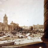 La Catedral  Cd.de Mexico D F Por el fotografo Hugo Brehme ( Fechada 14 de Febrero de1935 )