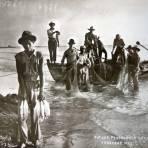 Tipicos pescadores en la Playa