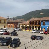 Zócalo del Pueblo Mágico de Tlatlauquitepec. Julio/2016