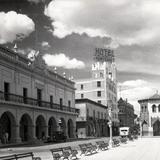 Calle Zaragoza y Palacio Municipal