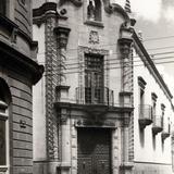 Fachada colonial en San Luis Potosí
