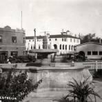 Jardines de la estación del ferrocarril del Nogales