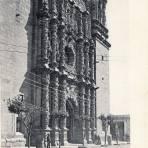 Portada de la Catedral de Zacatecas