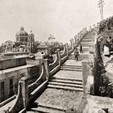 Villa de Guadalupe: Subida al cerro del Tepeyac