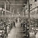 Fábrica de Metepec, salon de telares