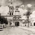 Ex convento de la Cruz (cuartel general de Maximiliano)