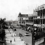 Calle Muelle desde el Cine Alcázar
