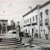 Calle Palacio y Jardin