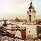 Xochimilco Panorama por el fotografo  Hugo Brehme ( Fechada el 1 de Enero de 1931 )