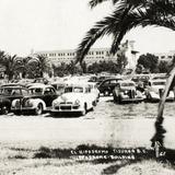 Autos frente al Hipódromo de Tijuana