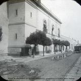 Prision de Maximiliano de Absburgo en Queretaro por el fotografo William Henry Jackson
