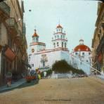 La Iglesia de La Paz y Escena callejera de Guanajuato. - Guanajuato, Guanajuato