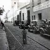 Escena callejera en Queretaro.