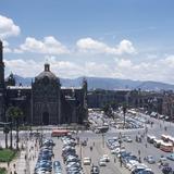 Zócalo y Sagrario de la Catedral (circa 1952) - Ciudad de México, Distrito Federal