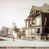 Calle de Liverpool ( Fechada el dia 10 de Diciembre de 1903). - Ciudad de México, Distrito Federal