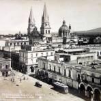 Panorama hacia el Norte ( circa 1914 ) - Guadalajara, Jalisco